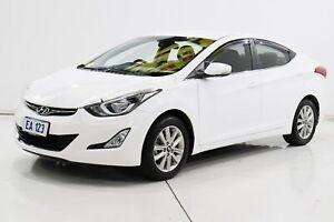 2014 Hyundai Elantra MD3 Trophy White 6 Speed Sports Automatic Sedan Brooklyn Brimbank Area Preview