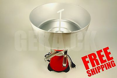 New Milk Cream Electric Centrifugal Separator Machine Metal 100lh Worldwide