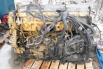 2006 Cat C-15 Mxs Diesel Engine 475hp . Only Good For Rebuild Non Running
