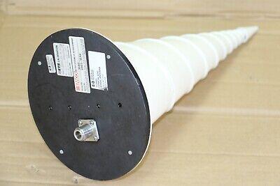 Emco 3102 Hp 11966g Conical Log Spiral Antenna 1ghz - 10ghz50w Sr3102