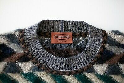 Vintage MISSONI Men's Crewneck Sweater