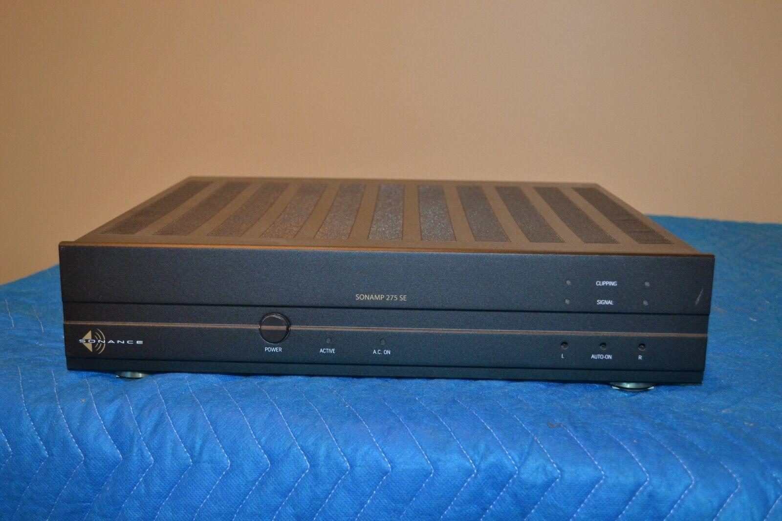 Sonance Sonamp 275 SE Sound Enhanced 2-Channel Stereo Power Amplifie - $134.05