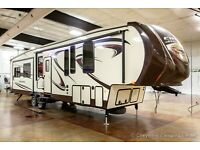 2016 Sierra 371REBH Mid Bunkhouse 2 Bedroom Fifth 5th Wheel with Auto Leveling