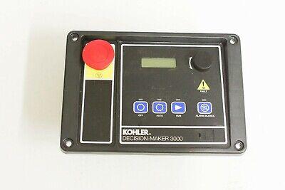 Kohler Part Gm65741-1 Generator Controller Decision Maker 3000 For Gen Set