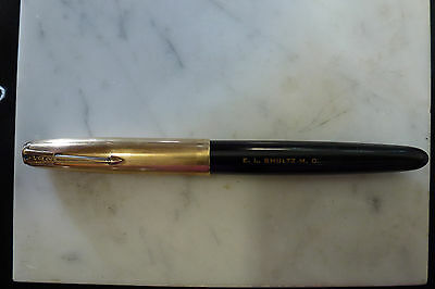 Parker 51 Aerometric 51 14K 1/8 Gold Filled - Rare - 14K nib - USA Vintage