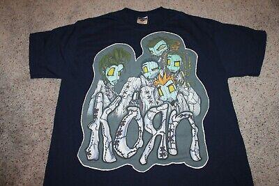 Vintage Korn t shirt 1999 M navy blue