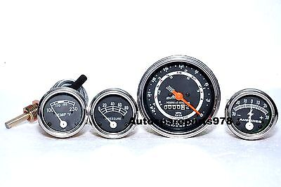 New Ford Tractor 600 700 800 900 Instrument Gauge Cluster Kit - Tachometer 5 S