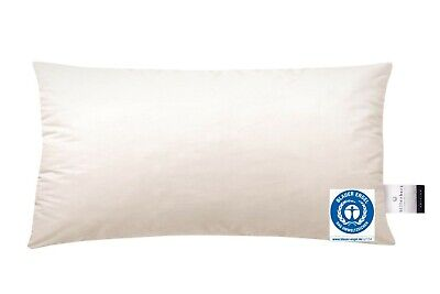 Billerbeck Kopfkissen Frieda E15 40x80 cm Daunen Kissen 100% Baumwolle