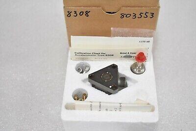 Bruel Kjaer Type 8308 803553 Accelerometer - Sound And Vibration