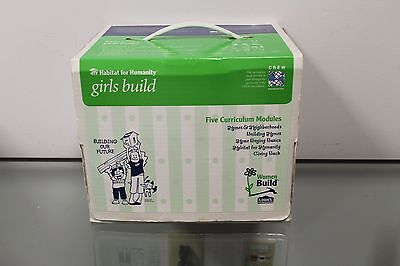 Habitat For Humanity Women Girl Build Kit Five Curriculum Modules Lowes