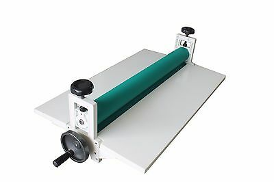 14 360mm Manual Vinyl Film Mounting Laminating Machine Cold Laminator Metal New