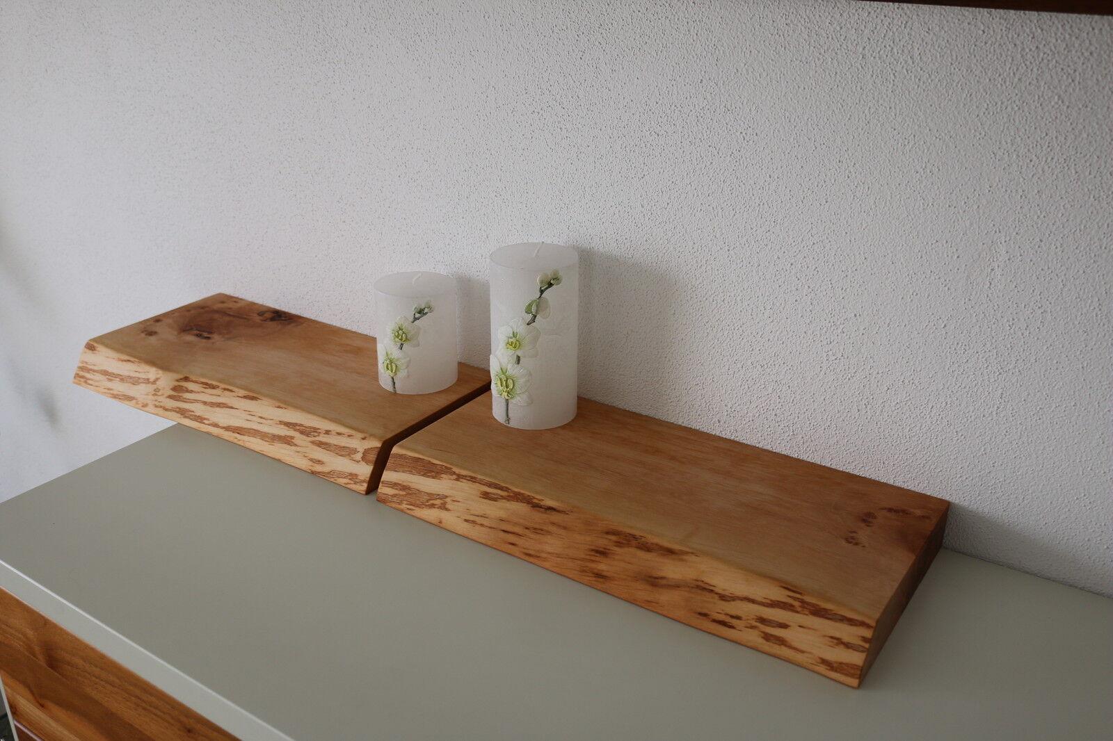 2x wandboard erle massiv holz board regal steckboard regalbrett baumkante neu eur 127 00. Black Bedroom Furniture Sets. Home Design Ideas