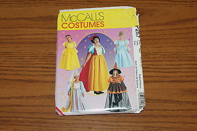 Snow White Belle McCall's Costume Sewing Pattern 257 Size 10-14 Girls Storybook](Storybook Belle Costume)