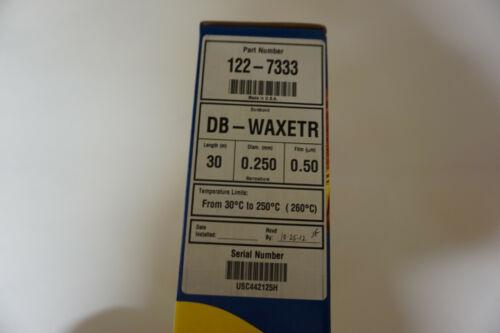 New Agilent  J&W Scientific GC column DB-WAXETR  122-7333 chromatography sealed