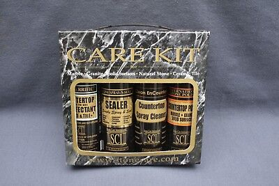 Granite and Stone Complete Care Kit, Polish and Restores the Natural Shine
