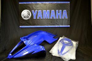 Raptor 700 plastics GENUINE YAMAHA front fender / grill BLUE 06-18 SHIP NOW!!!