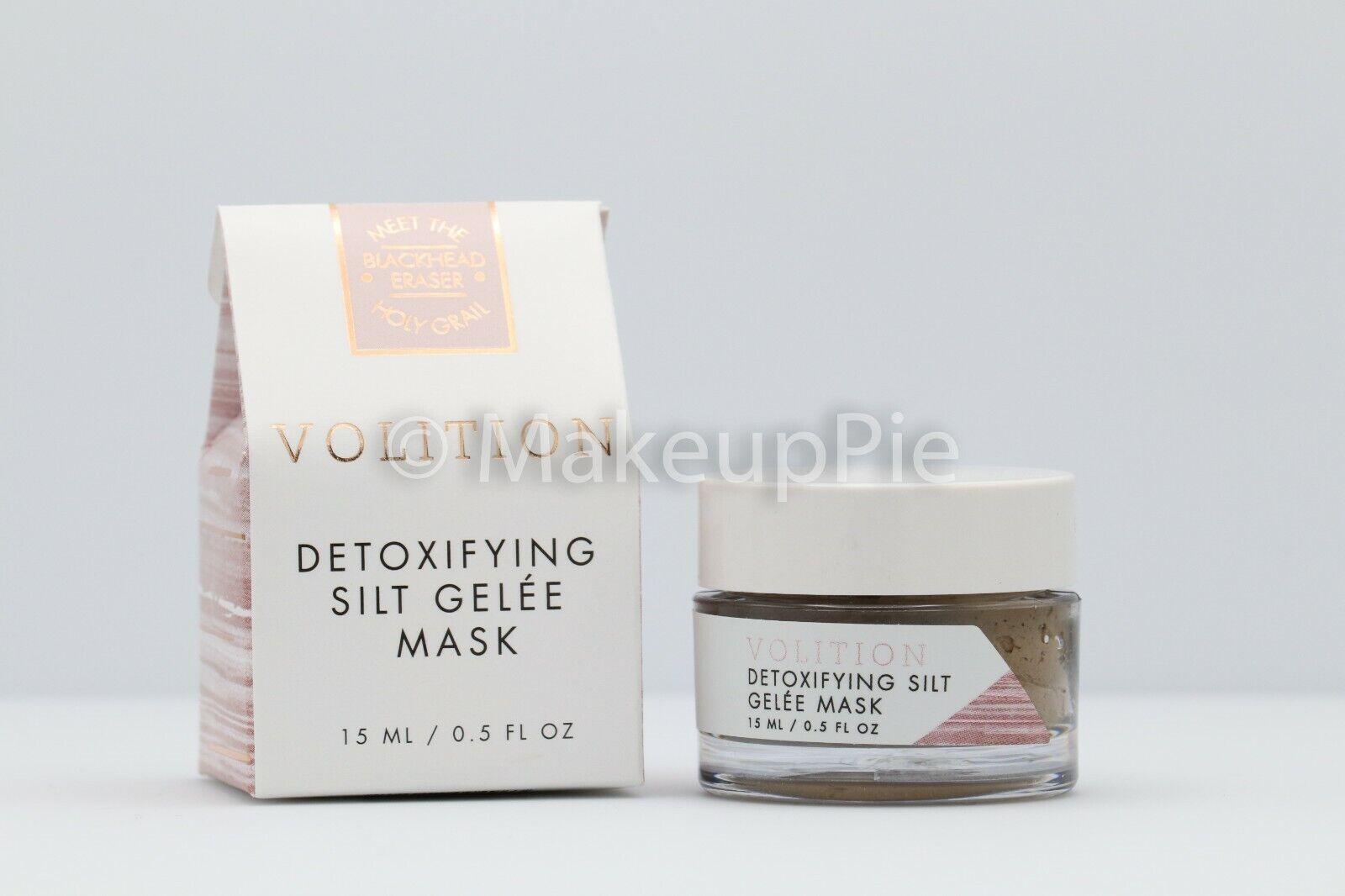 VOLITION Beauty Detoxifying Silt Gelee Mask 0.5 oz Travel Si