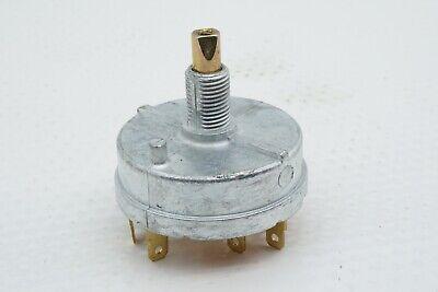 New Genuine Oem John Deere Part Number Ar4872 Rotary 12v Light Switch 4 Position