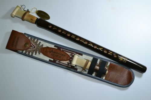 Yerevan duduk with national ornament case + 2 reed