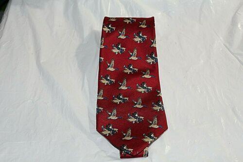 Mickey Mouse Airplane Tie Red Blue Duck Disney Balancine Necktie Works
