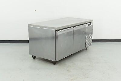 Used Continental Crb67 67 2 Door Worktop Refrigerator Stock No. 479808