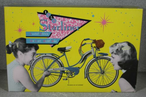 Vintage 1950 1:6 Scale Starliner Model Girls Bicycle Xonex 1991 Limited Edition