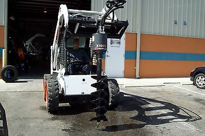 Takeuchi Skid Steer Auger Pkg By Mcmillen5 Year Warrantychoice Of 69or 12