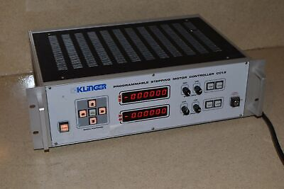 Klinger Cc1.2 Programmable Stepping Motor Controller - No Key P2