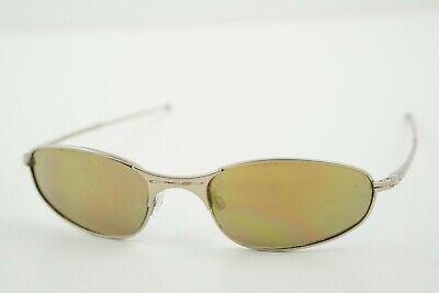 Oakley A Wire Platinum Sunglasses Frames w/ Prescription Lenses (No Earsocks)