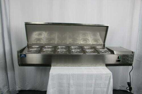 "Scratch & Dent Arctic Air ACP63 63"" Refrigerated Counter-Top Pan Rail"