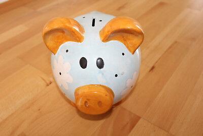 Sparschwein sehr groß, sehr hungrig - sehr dekorativ