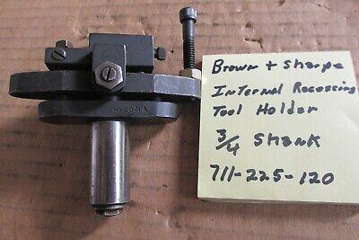 Brown Sharpe Recessing Tool Holder 20ma