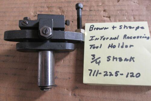 Brown & Sharpe recessing tool holder #20MA