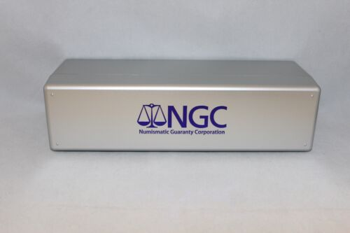 NGC STORAGE BOX - HOLDS 20 NGC SLABBED COINS (BRAND NEW)