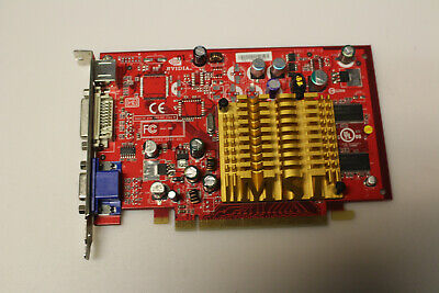 Carte graphique PCIE NVidia NX6200TC 128Mb TESTED