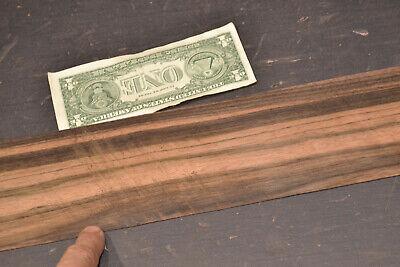 Macassar Ebony Raw Wood Veneer Sheets 3.5 X 31 Inches 1/42nd Thick 7679-50 - $9.99