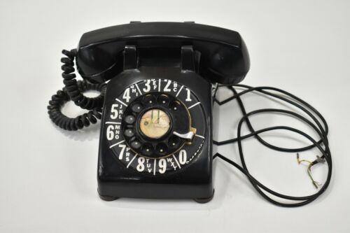 Vintage Rotary Telephone Black Stormberg Carlson Dial Phone