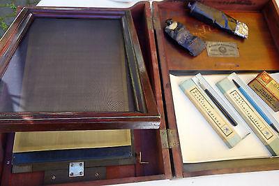 Abzugsapparat Greif-Werke Goslar Drucken Polygrafie ca.1920 Vervielfältigung -G