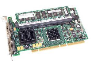 Dell-Perc-4-DC-SCSI-U320-PCI-X-RAID-HBA-D9205-Controller-Card-J4717-KJ926