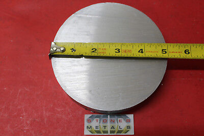 5 Aluminum 6061 Round Rod 34 Long T6511 Solid Extruded Lathe Bar Stock