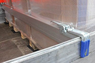 Sonderaktion Spannbrett Zwischenwandverschluss Klemmbrett Anhänger 2,40-2,70 m