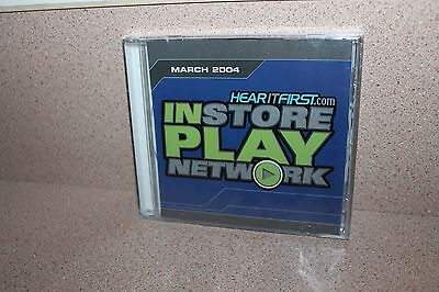 Instore Play Network Hear It First Com New   Sealed Cd March 2004 Switchfoot