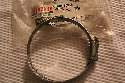 YAMAHA SJ700 SJ 700 SUPER JET EXHAUST HOSE CLAMP GENUINE OEM 90460-70M16