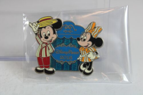 B2 Disney Parks LE 4000 Pin Mickey & Minnie Mouse Dapper Outfits