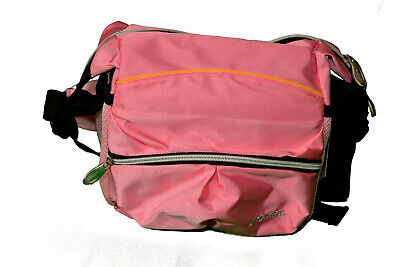 Tasche Damen Herren Umhängetasche Flugbegleiter klein wandern Rosa 4123 Neu/Ovp - Paris, Tag, Tasche