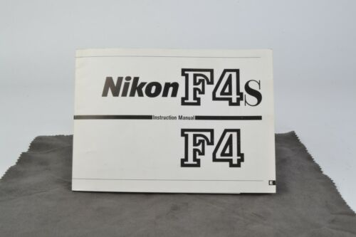 Nikon F4s / F4 Camera Instruction Manual User Guide (001)