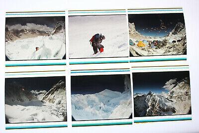 Lot of 6 Everest IMAX 70mm Film Cells L1