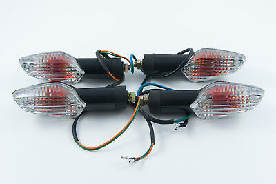 Front and rear indicators complete set of four suitable for Honda CBF125 CBF 125