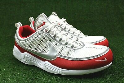 009c2e089704d Nike Air Zoom Spiridon  16 Men Size 14 White Metallic Silver Red 926955 102