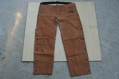 Condor 4KXH6 leather welders chaps